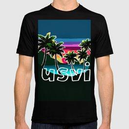 USVI sunset T-shirt