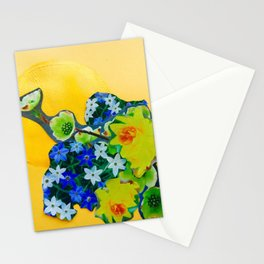 Garden Circle - Gold Stationery Cards
