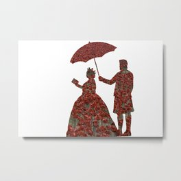 Poppy Queen Metal Print