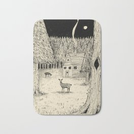 'In The Clearing' Bath Mat