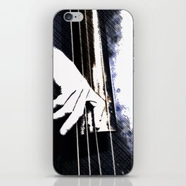 Jazz Bass Poster iPhone Skin