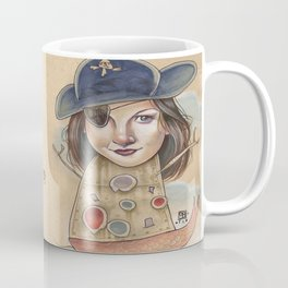 PIRATE ROBOT MERMAID Coffee Mug