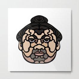 SUMO Metal Print