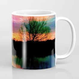 Watercolor January Texas Sunrise Coffee Mug