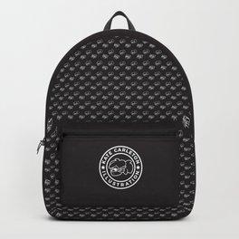Logo Pattern Backpack