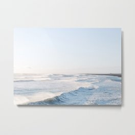 Golden shores - Iceland | ocean - landscape - photography - travel - winter - south coast - travel Metal Print