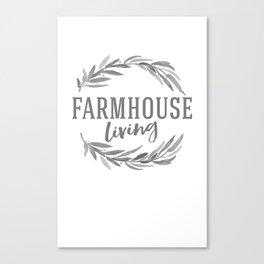 Farmhouse Canvas Print