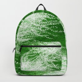 Wind-whipped Vines (green) Backpack