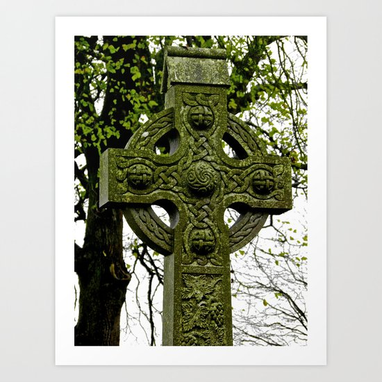 Celtic Cross at Monasterboice Art Print