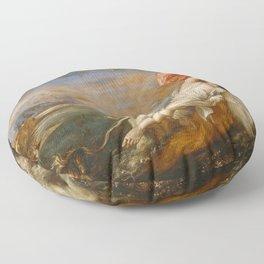 The Rape of Europa (Titian) Floor Pillow