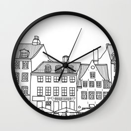 Nyhavn Wall Clock
