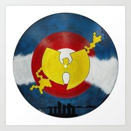 Mile High Wu Tang #1 Art Print