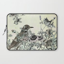 The thrush and a promise of Spring Laptop Sleeve