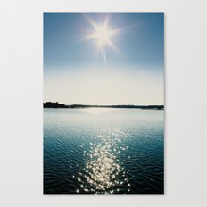River Sparkles Canvas Print