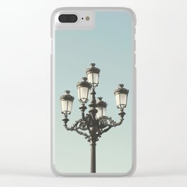Lamppost Clear iPhone Case