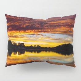 Fiery Sunset Pillow Sham