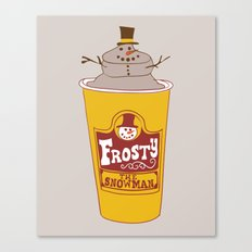 Frosty the Snowman Canvas Print