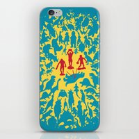 marx iPhone & iPod Skins featuring Hunted! by Ivan Guerrero