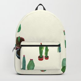 Clock Cactus Backpack