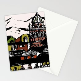 Cuzco - Peru cityview landscape Stationery Cards