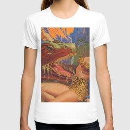 Dinosaur attack! T-shirt