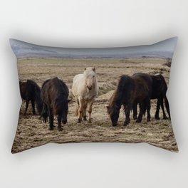 Balanced Horse Rectangular Pillow