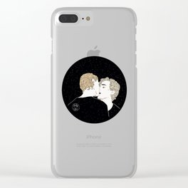 Man of my life Clear iPhone Case