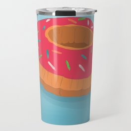 Summer Donut Travel Mug