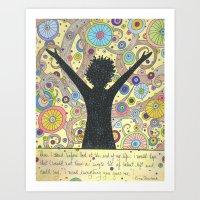 Fulfillment Art Print