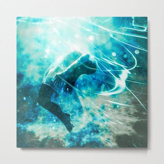 Mermaid Wish Metal Print