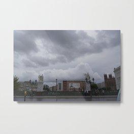 Berlin clouds Metal Print