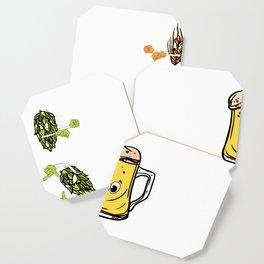 Beer fusion hop malt Anime Funny Gift Coaster
