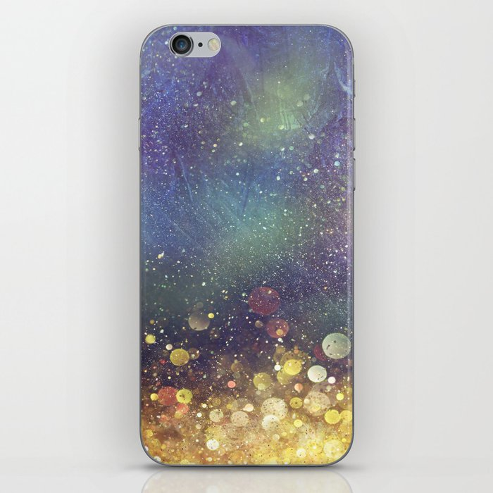 Galaxy I iPhone Skin