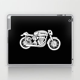 Norton Model 30 - Cafe Racer series #2 Laptop & iPad Skin