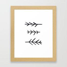 Sprigs Framed Art Print