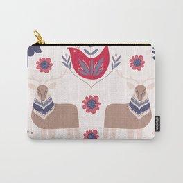 Scandinavian Winter Pattern Beige #society6 #buyart Carry-All Pouch