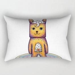 Yellow Bunny Rectangular Pillow