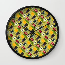 Jalepeno Juice Jam Wall Clock