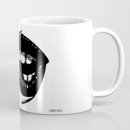 Biting Lip by zombiecraig Coffee Mug