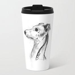 Italian Greyhound Sketch Travel Mug
