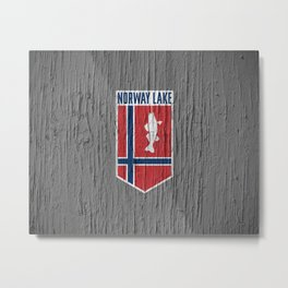 NORWAY LAKE / Sunburg / 2,327 acres Metal Print
