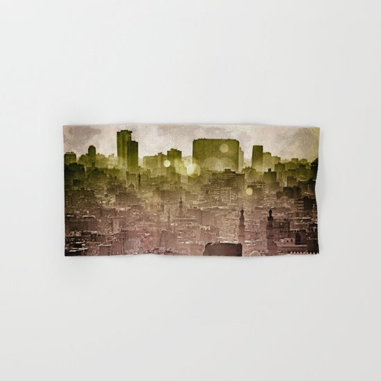 Sunset over Cairo II Hand & Bath Towel