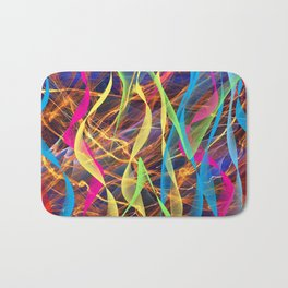 Ribbon Dance Bath Mat