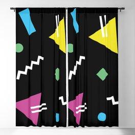 Memphis pattern 62 - 80s / 90s Retro Blackout Curtain