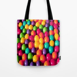 Rainbow Candy: Gumballs Tote Bag