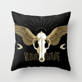 Vulture Culture Throw Pillow
