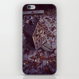 Wicked Witch of The East iPhone Skin