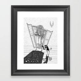 The Imp's Grim Collection Framed Art Print