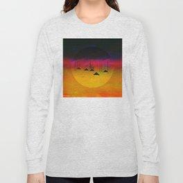 Pink Horizon / Archipelago Long Sleeve T-shirt