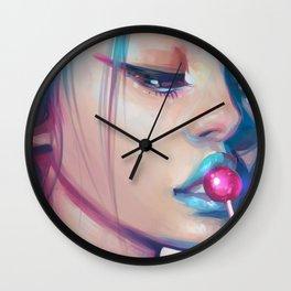 Lolipop Wall Clock